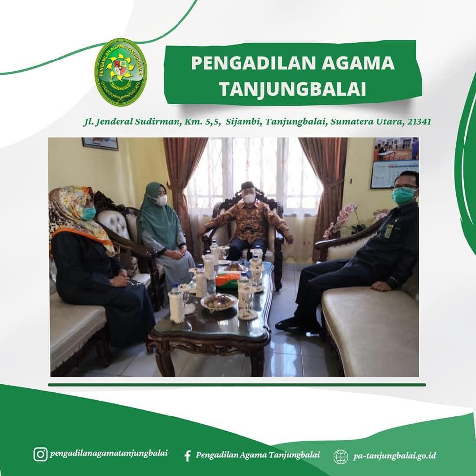 Kunjungan Singkat Ketua Pengadilan Tinggi Agama Medan di Pengadilan Agama Tanjungbalai