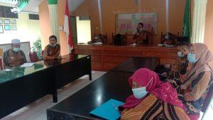 Pengadilan Agama Tanjungbalai melakukan Persentase ZI di hadapan Tim Ditjen Badilag MARI
